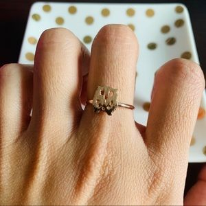 NEW Rose gold owl ring